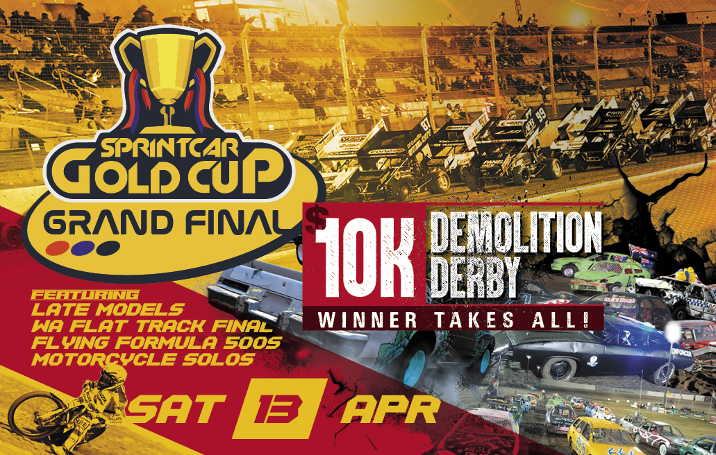 13. Gold Cup Grand Final and Demo Derby 13th April 2019 Image