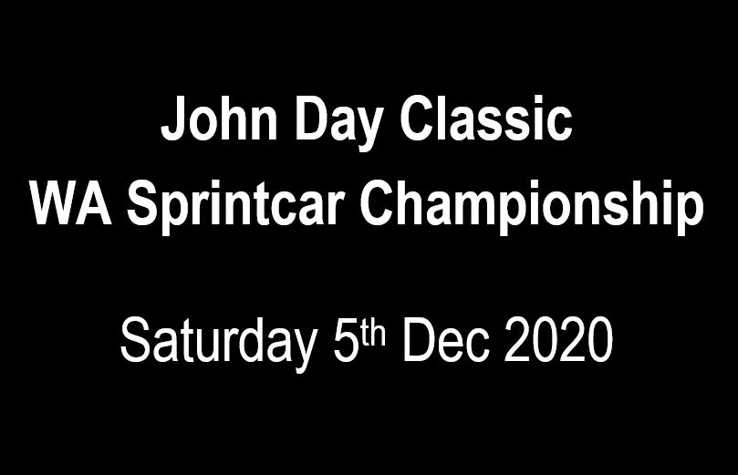 04. John Day Classic - WA Sprintcar Title - 5th December 2020 Image