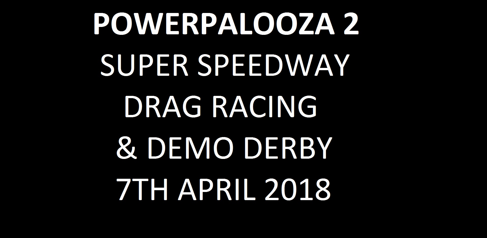 11. Powerpalooza 2 - 7th April 2018 Image