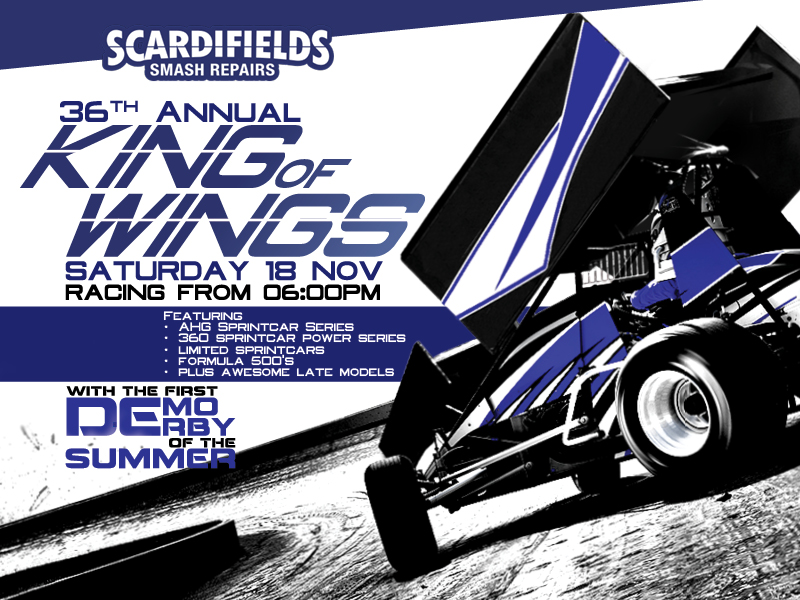03. Scardifield Smash Repairs King of Wings & Demo Derby - 18th November 2017 Image