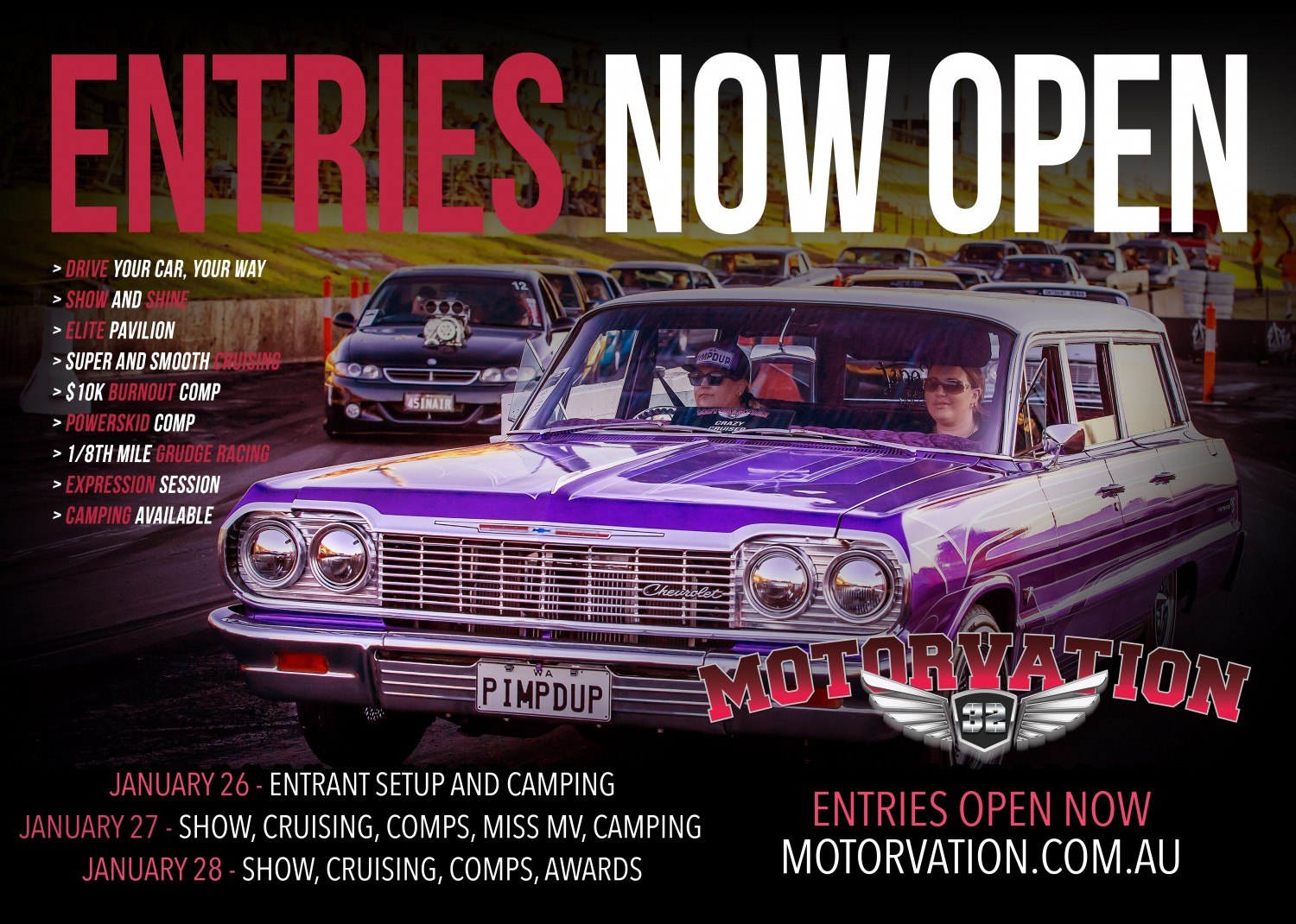 Motorvation 32 - 26th, 27th and 28th January 2018 Image