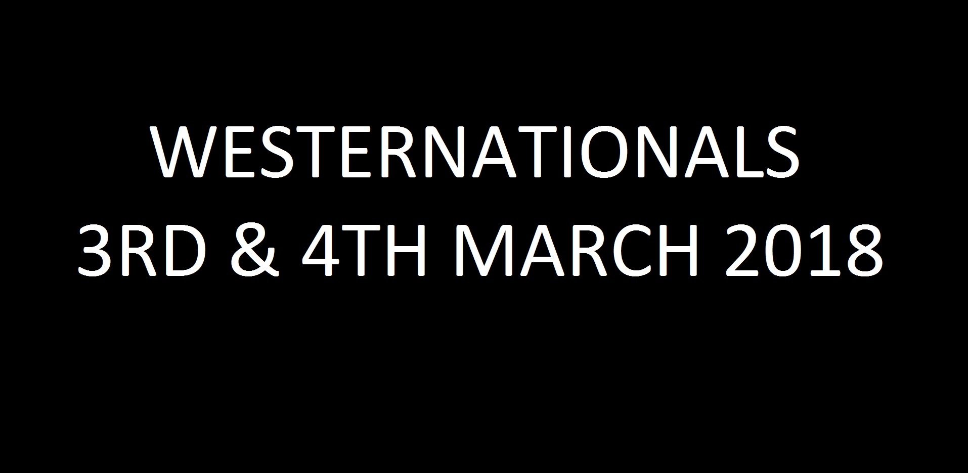 07. Westernationals - 3rd & 4th March 2018 Image