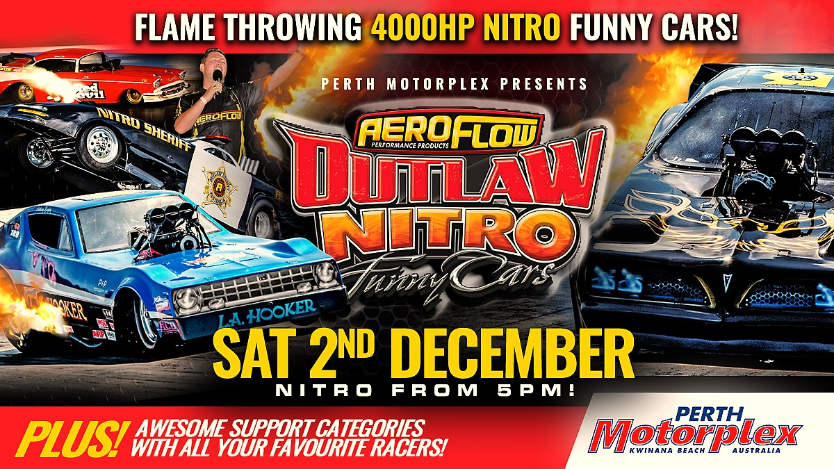 03. Aeroflow Outlaw Nitro Funny Car - 2nd December 2017 Image