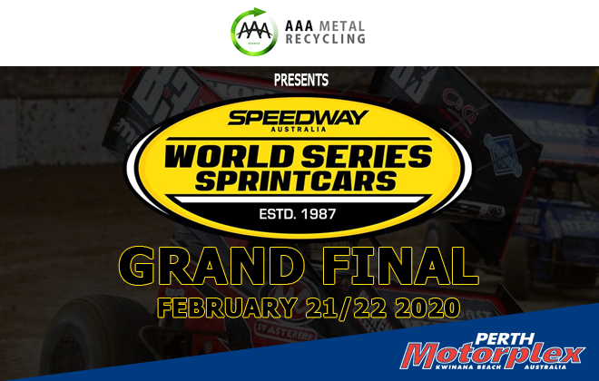 10. AAA Metal Recycling World Series Sprintcars Grand Final - 21st & 22nd February 2020 Image